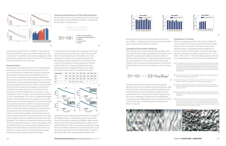 Modulating Thermal Mass Behavior ACADIA 17 4
